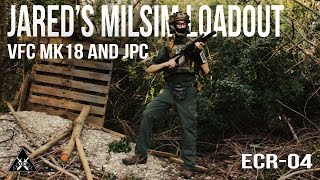Jared's 2017 MilSim Loadout | VFC MK18 and JPC