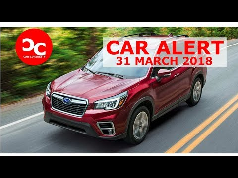 2019 Subaru Forester Gets More Room, More Standard Safety Equipment