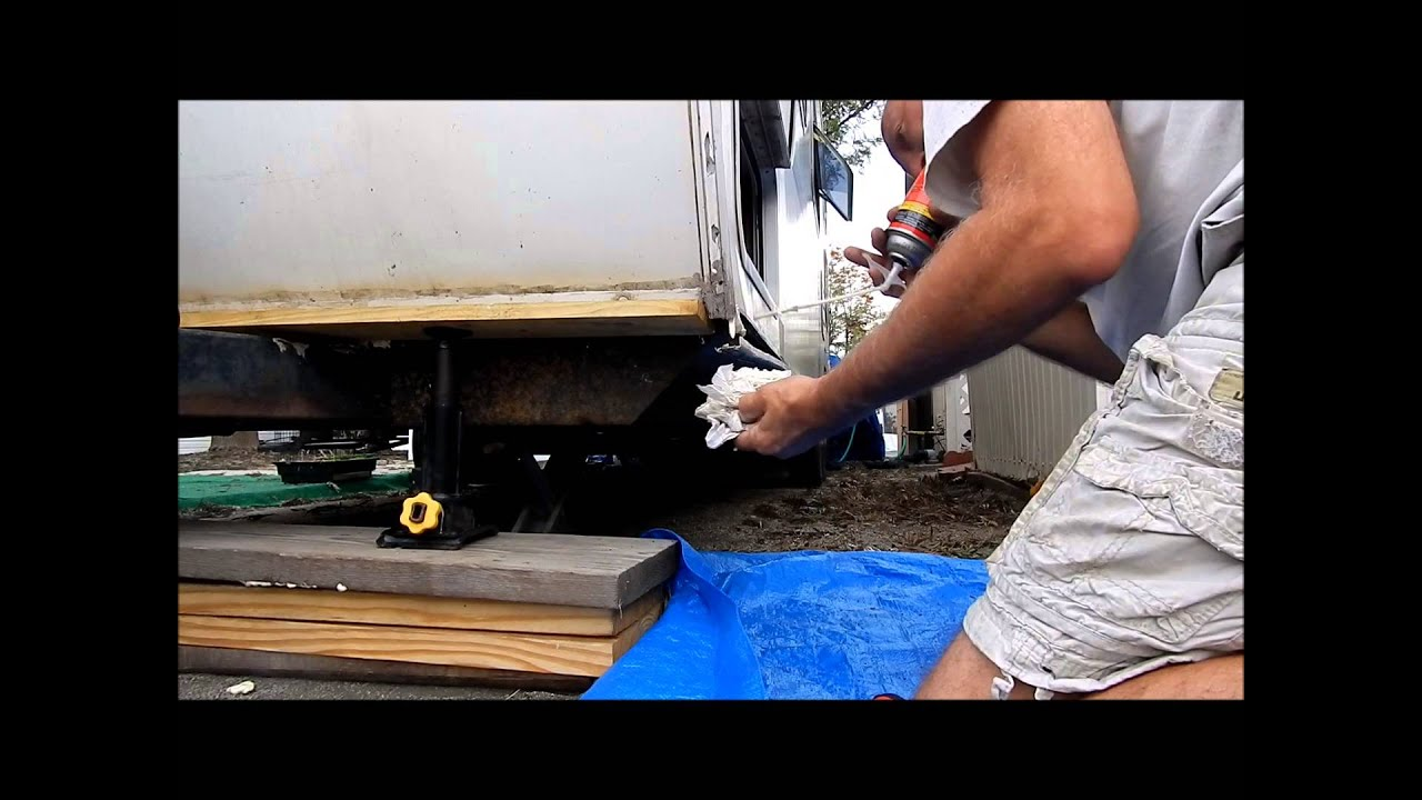 Rv Trim And Water Damage Repair Youtube