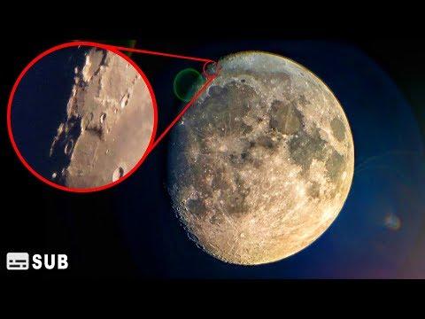 Луна в 4К и Ответы на вопросы. Съёмка через мощный телескоп