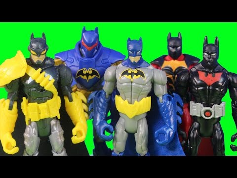 Batman Unlimited Batman Beyond Capture Bat Shock Shark Axe Rhino Blade Wolf Tiger Claw Figures Joker
