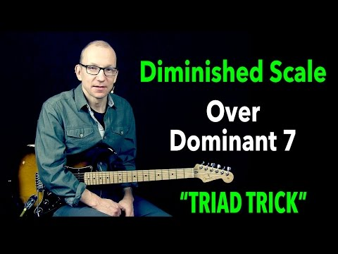 Diminished Scale Over Dominant 7 - Using A TRIAD - Q & A With Robert Renman