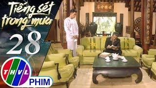 THVL | Tiếng sét trong mưa - Tập 28[4]: Khải Duy lấy roi đánh Xuân vì không cố gắng học
