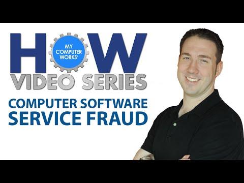 Computer Software Service Fraud (Microsoft Scam)