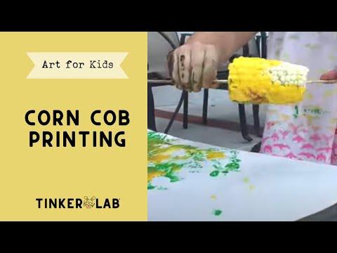 Corn Printing | TinkerLab