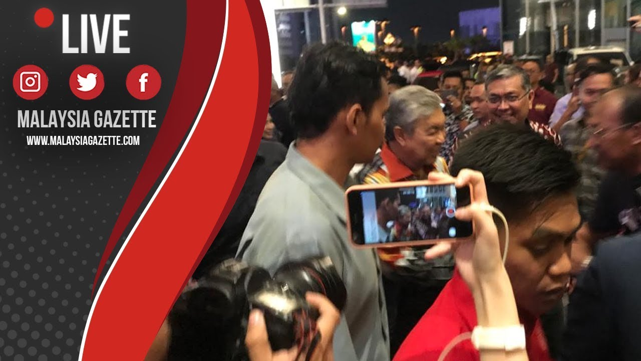 MGTV LIVE : Pemimpin Barisan Nasional, PPBM, PAS Tiba Di Hotel Sheraton