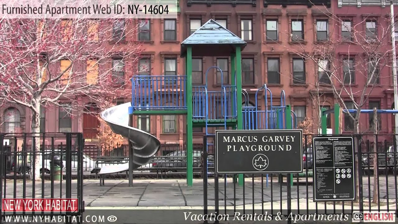 New York City Video tour of a furnished apartment on West 119th