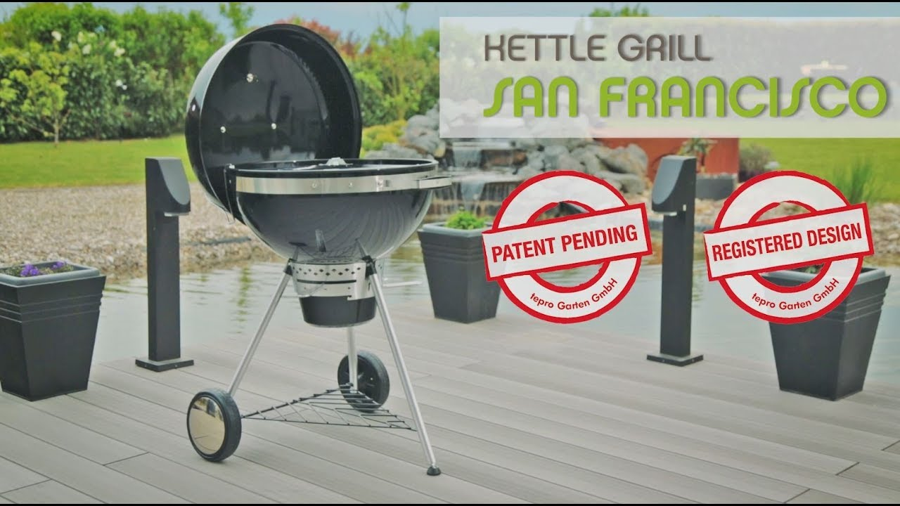 Tepro Kettle Grill San Francisco Youtube