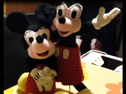 Tutorial Topolino Micky Mouse alluncinetto parte III ...