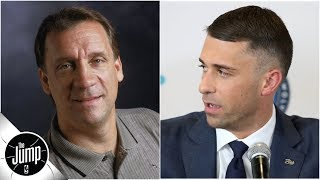 Ryan Saunders gets emotional about dad, Flip, during Wolves introductory press conference   The Jump