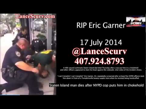 Eric Garner: The Latest Victim In The Secret Fraternal Order Of Police & Black Male Sacrifice!