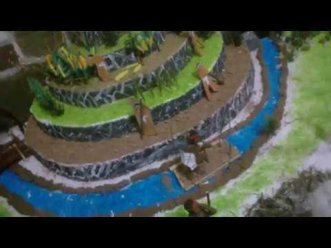Maqueta Sobre La Agricultura Maya