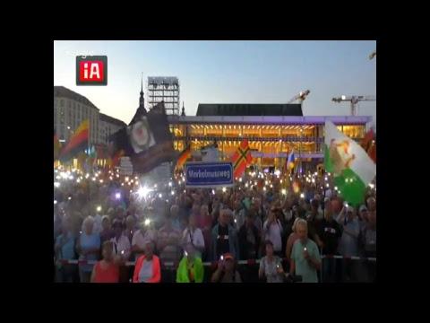 28.08.2017 PEGIDA live vom ALTMARKT Dresden