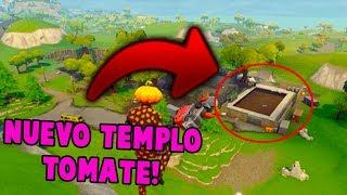 EPIC GAMES FILTRA por ERROR el *NUEVO* TEMPLO TOMATE!! FORTNITE 🍅🔥