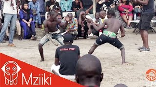 Dambe Warriors 21: Fighters Use Range For Dominance