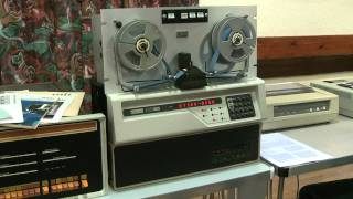 PDP 8/A with Remex Paper Tape Drive
