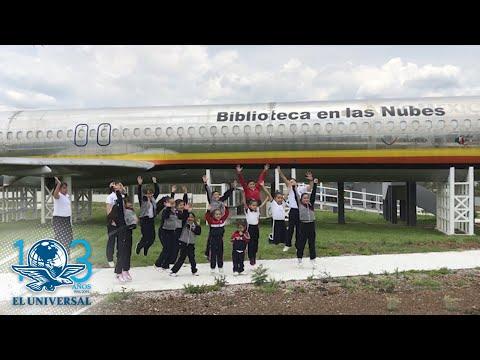 Mexique : un Boeing 727 converti en bibliothèque avec un simulateur de vol