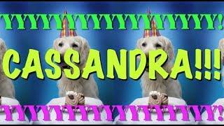 Happy Birthday Cassandra Epic Happy Birthday Song Youtube