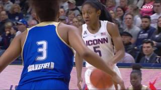 UConn Women's Basketball vs. Tulsa Highlights