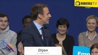 Macron face à des salles vides
