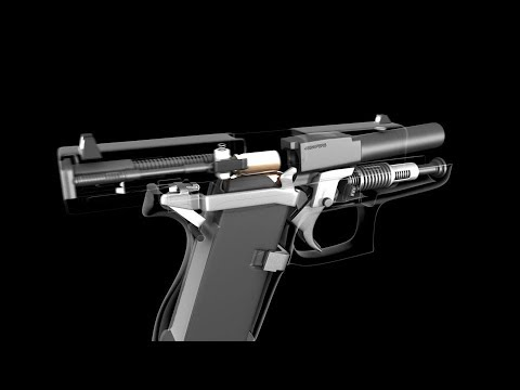 How A Glock 43 Works - 3D Animation