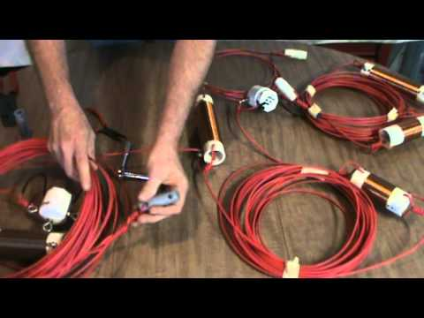 Ham Radio 40/80/160 Meter Inverted V Dipole Antenna