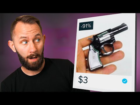$3 Pistol?!   We Bought 10 Weapons From Wish.com!
