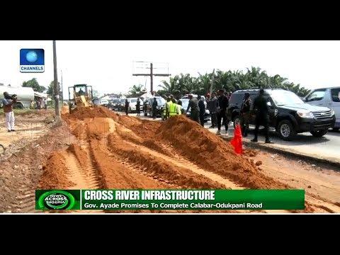 Gov Ayade Promises To Complete Calabar Odukpani Road