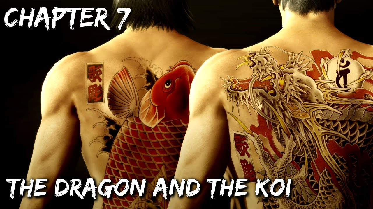 Yakuza Dragon and the Koi
