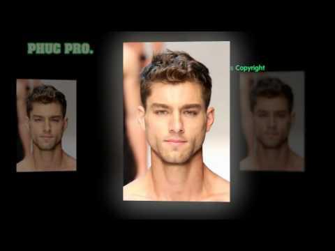 Kiểu tóc nam phù hợp cho gương mặt vuông – PHUC PRO 2017