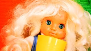 Miss Polly and baby Dolly - Toys story w nursery Song by La La Kids