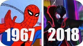 THE Evolution of SpiderMan in Cartoons | History Of SpiderMan Cartoons 1967-2018