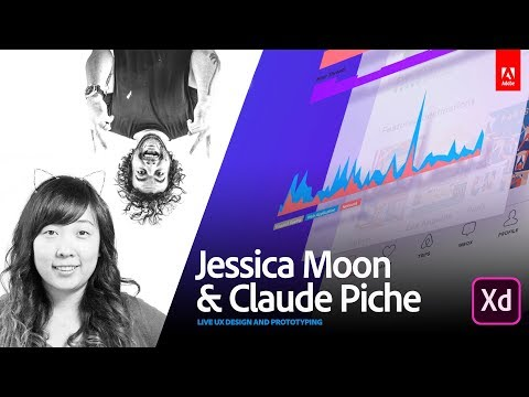 Live UX Design with Jessica Moon and Claude Piche from Telepathy 1/3