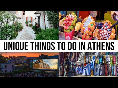 5 Unique Things To Do In Athens Greece