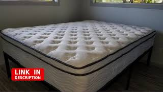 """Modway Jenna 14"""" Queen Innerspring Mattress - Top Quality Quilted Pillow Top - review"""