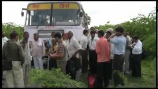 Rajasthan Roadways Broken Bus