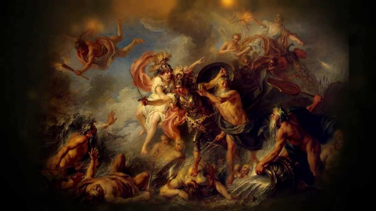 Achilles greek warrior story