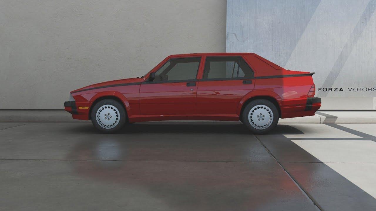 Forza Motorsport 6 1992 Alfa Romeo Milano Quadrifoglio