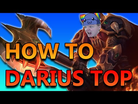 HOW TO PLAY DARIUS TOP - League of Legends Commentary