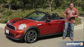 2013 MINI Roadster S Test Drive & Convertible Car Video Review