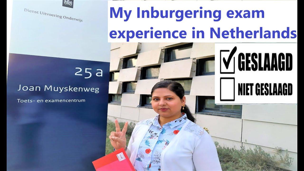 Inburgering examen test Exams (Inburgering/Staats)