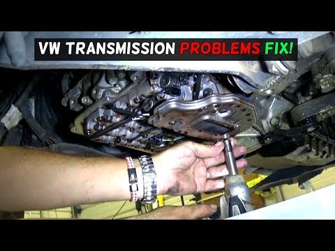 VW TRANSMISSION SHIFTS HARD VALVE BODY REPLACEMENT FIX - YouTube