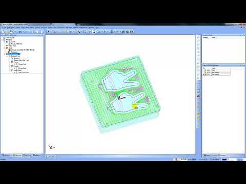 3D Milling Project BobCAD CAM V30