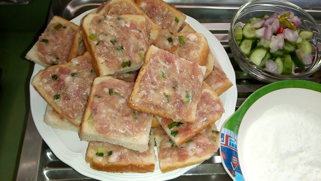 มาดูวิธีทำขนมปังหน้าหมู ตั้งแต่ต้นจนจบ อร่อยอยู่กับบ้านได้ง่ายๆค่ะ
