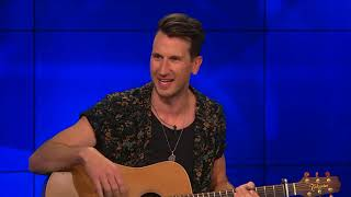 "Russell Dickerson Performs a Taste of ""Blue Tacoma"" Video"
