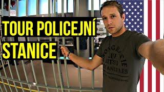 AMERICKÁ POLICEJNÍ STANICE | POLICISTKA SLOUŽÍ UŽ 33 LET!