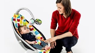 Кресло качалка MamaRoo 4moms (качели) электронная ... купить(, 2015-05-01T14:14:18.000Z)