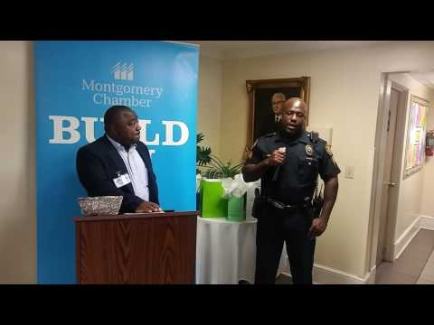 OfficerTay Ferguson shares experience at Brantwood Children's Home