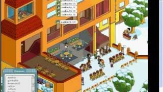 how to get to the top of the sun terrace at habbo