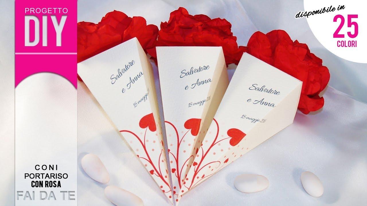 Matrimonio fai da te tutorial coni portariso confetti for Bordi per aiuole fai da te